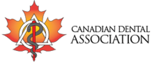 Canadian Dental Association logo used by Dr. Dahan in Ottawa